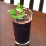 Super Smoothies :: Blueberry + Cucumber Smoothie