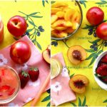 Super Smoothies :: Peach + Strawberry Smoothie