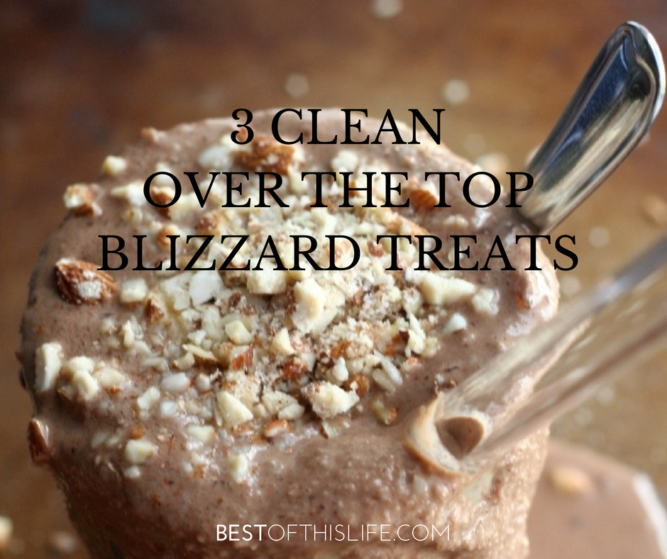 Homemade Healthy Dairy-Free Blizzards