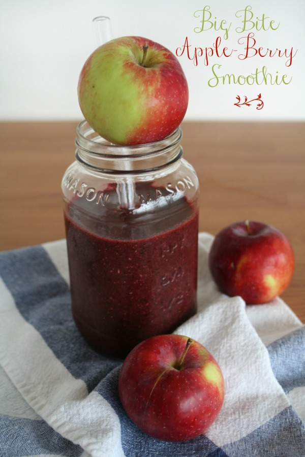 Super Smoothies Big Bite Apple Berry Smoothie The