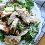 Gluten-Free Grilled Chicken Caesar Salad