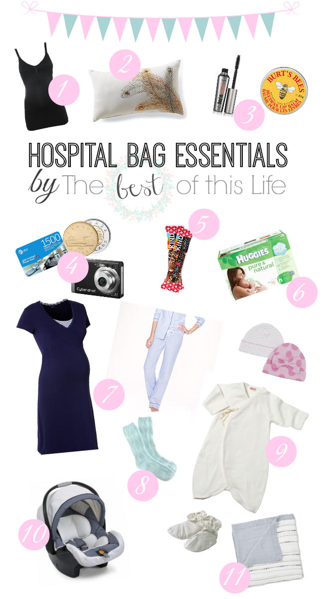 358fe9bb25e58 Hospital Bag Essentials What to pack in your hospital bag  www.bestofthislife.com