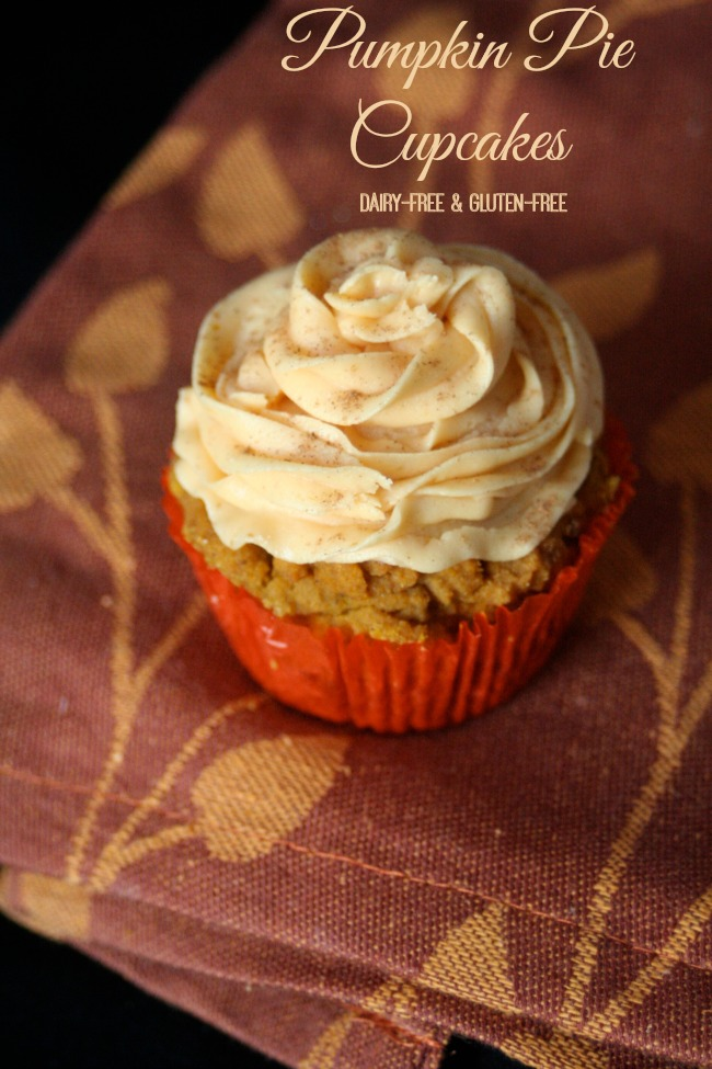 Gluten-Free Pumpkin Pie Cupcakes - The Best of this Life