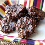 Healthier Chocolate Oatmeal No-Bake Cookies from Amee's Savory Dish