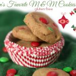 Children's Favorite Gluten-Free M&M Cookies