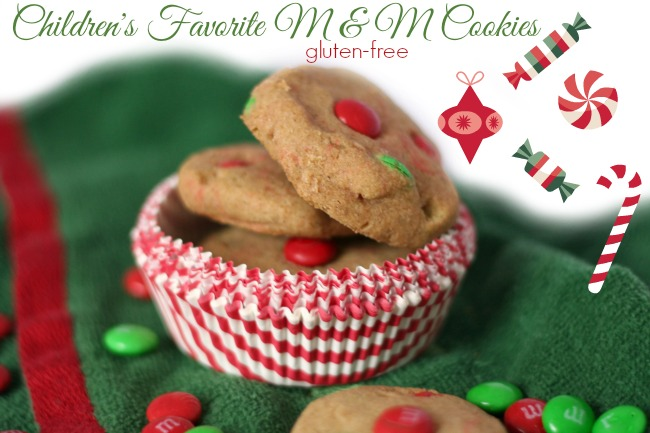 Children's Favorite Gluten-Free M&M Cookies - The Best of this Life