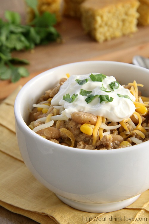 Chicken Chili on Pinterest | Chili, Soups and White Chicken Chili