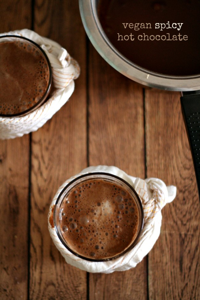 Vegan Spicy Hot Chocolate