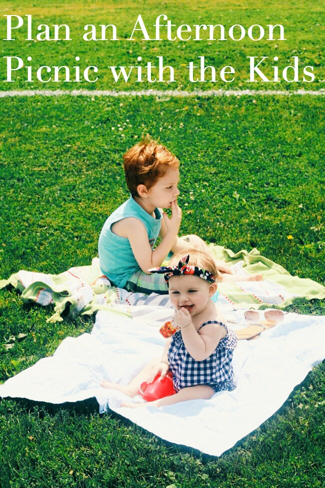 How to Plan an Afternoon Picnic with Kids | The Best of this Life