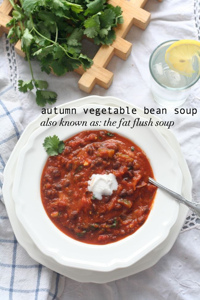 Autumn Vegetable Soup {Fat Flush Soup!} - The Best of this Life
