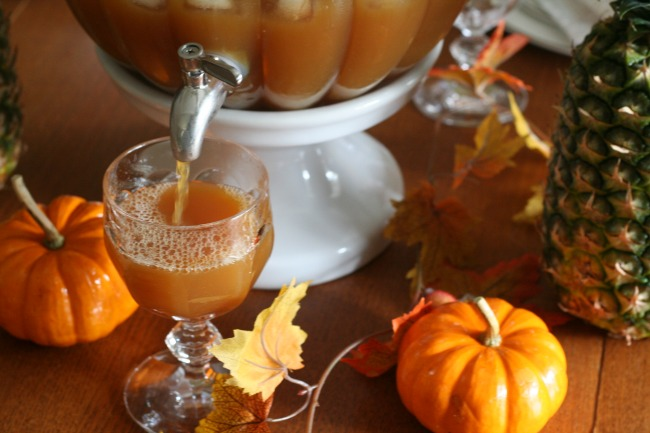 Fall Parties Amp A Ginger Apple Cider Punch The Best Of