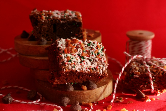 Gluten-Free Chipits Skor Brownies for Christmas
