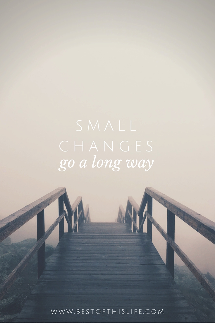 Small Changes Go a Long Way