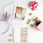 A Pink + Gold Holiday Birthday Party
