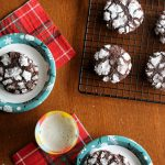 Almost Too Pretty To Eat Gluten-Free Crinkle Cookies