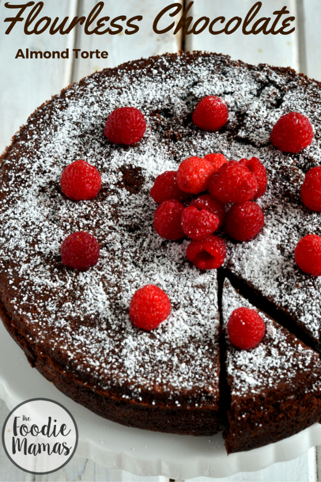 Flourless Chocolate Almond Torte - Cooking Curries - Gluten Free Vegetarian Dessert 650 x 975