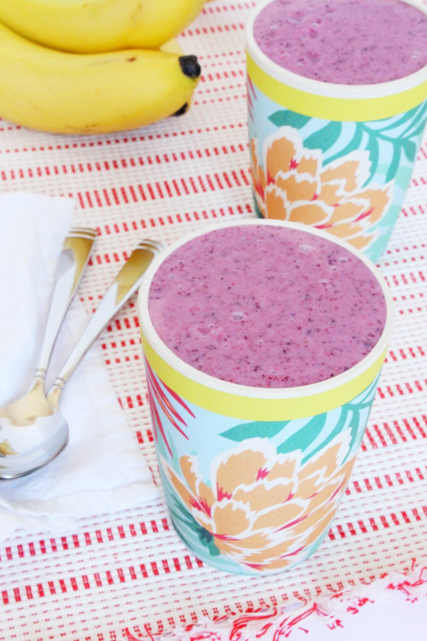 Lactose-Free Yogurt + Fruit Smoothies