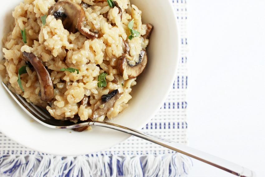 Mushroom Vegan Risotto 85x567 bestofthislife.com