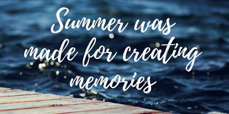 """Bestie Benefit: """"Summer Was Made For Creating Memories"""" Desktop Wallpaper"""