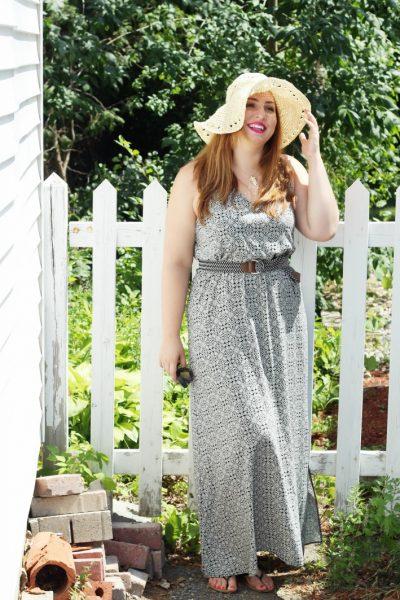 Summer Printed Maxi Dress bestofthislife.com