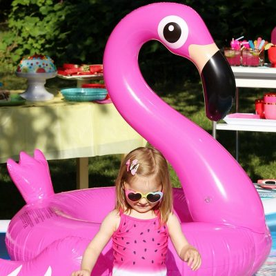 Summer Fun Pool Party featuring Lick Your Plate Cookbook