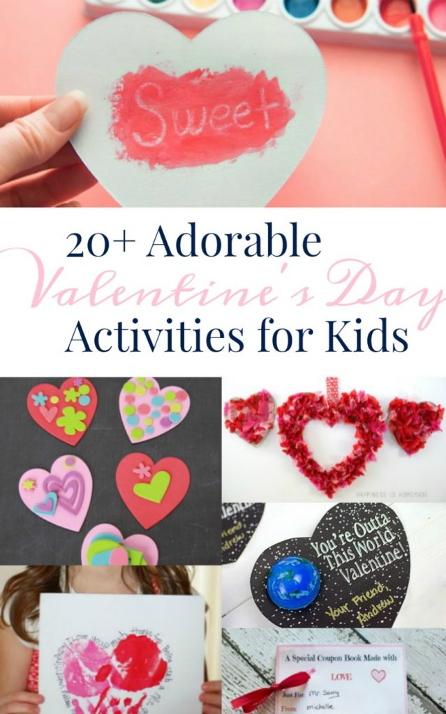 20+ Valentine's Day Activities for Kids
