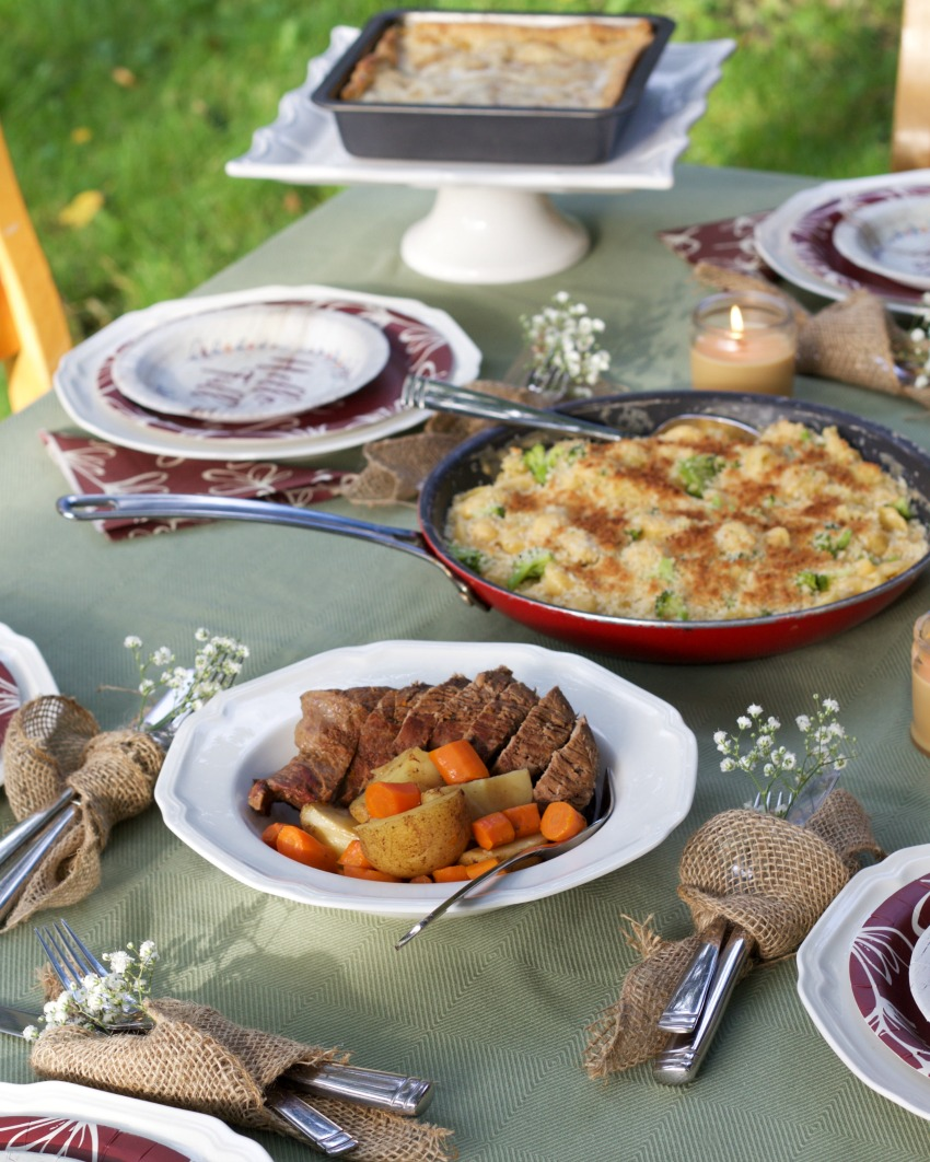 A Flavourful Thanksgiving Menu For Six (under $50!)