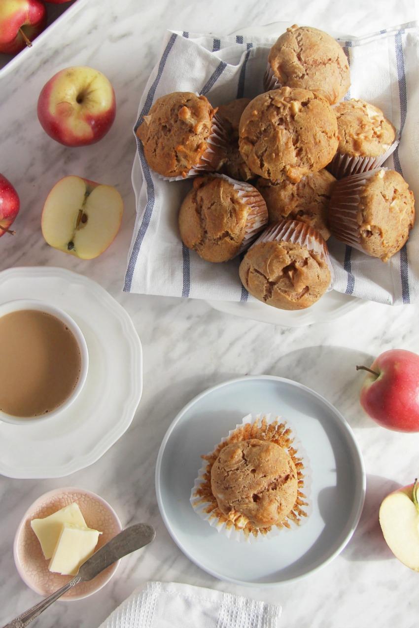 Classic Gluten-Free Apple Muffins